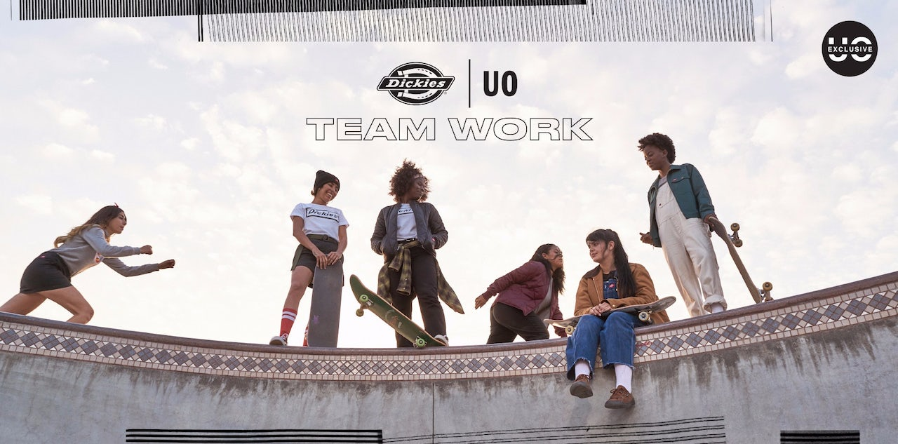 The campaign for Dickies and Urban Outfitters' female-focused workwear collaboration.