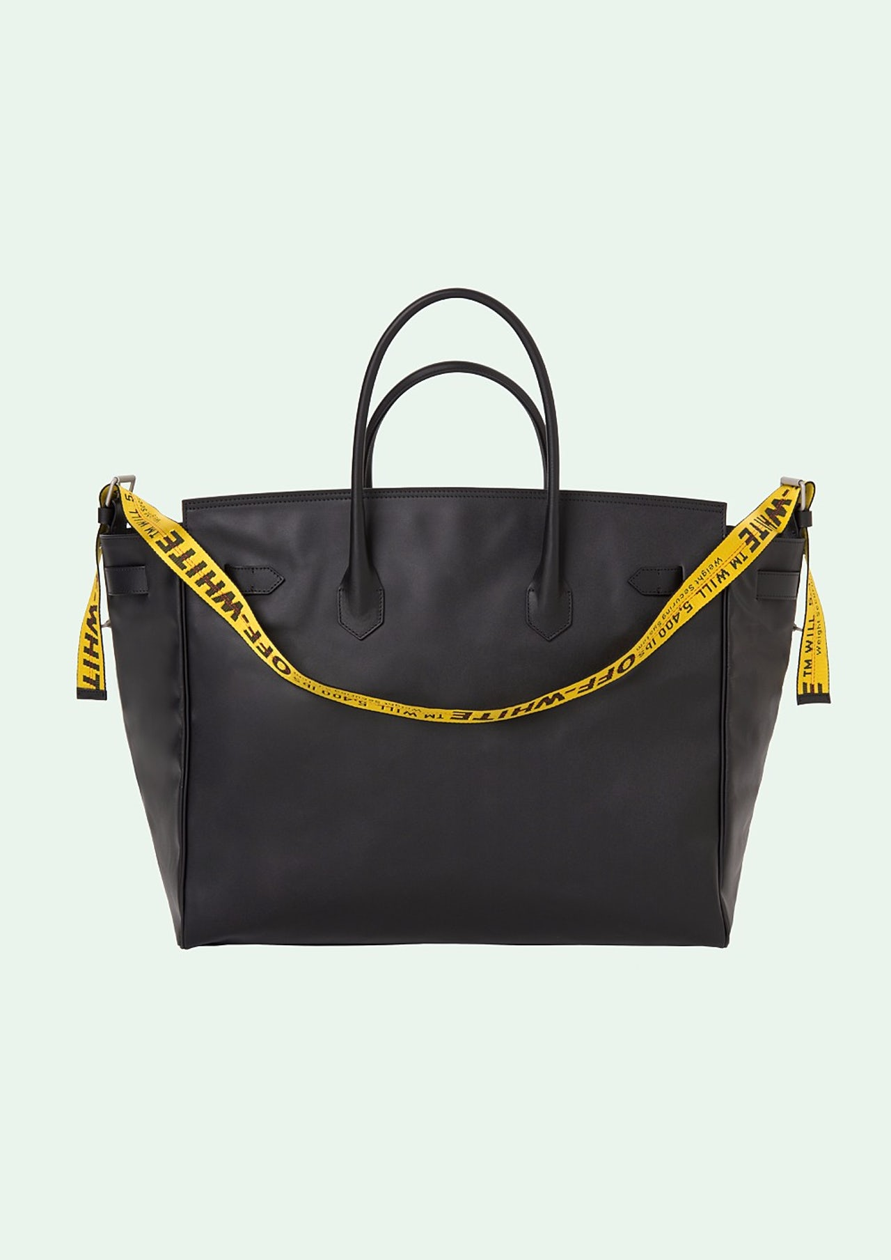 The leather Maxi bag from the brand Off-White