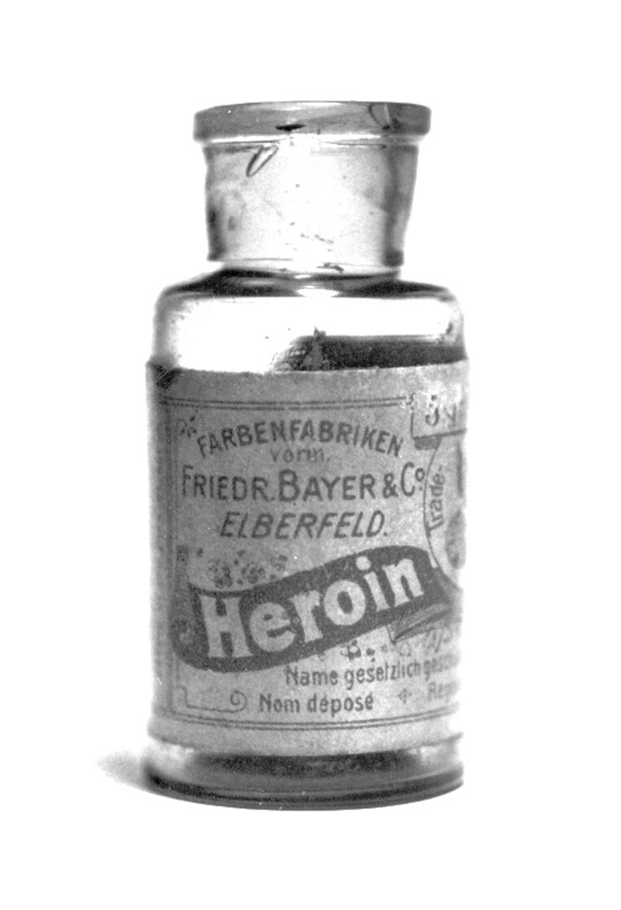 Heroin was legal in Germany until the 1950s.