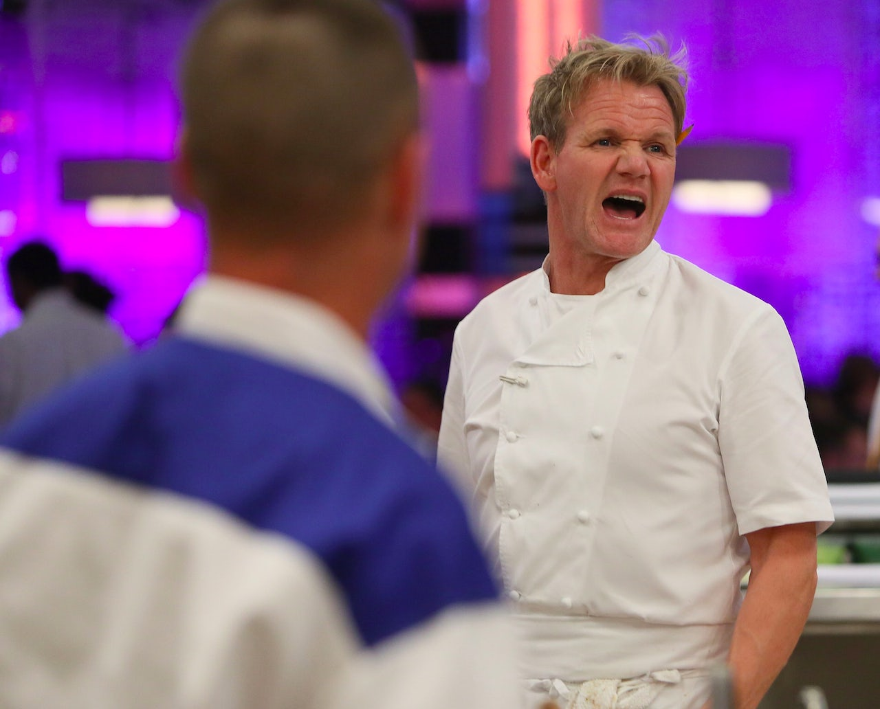 Gordon Ramsay during Season 14 of 'Hell's Kitchen.'
