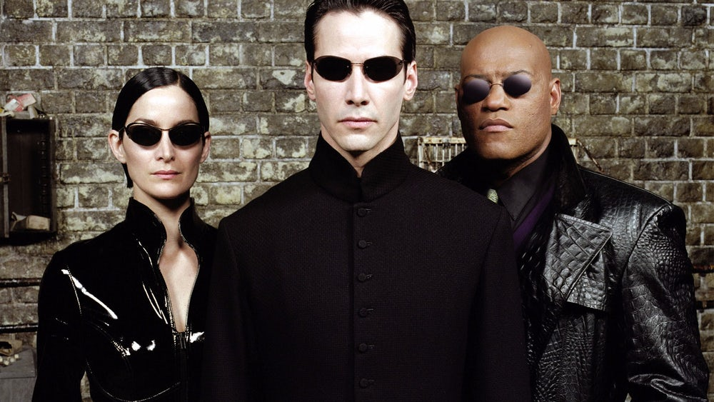 Cool guys from 'The Matrix'