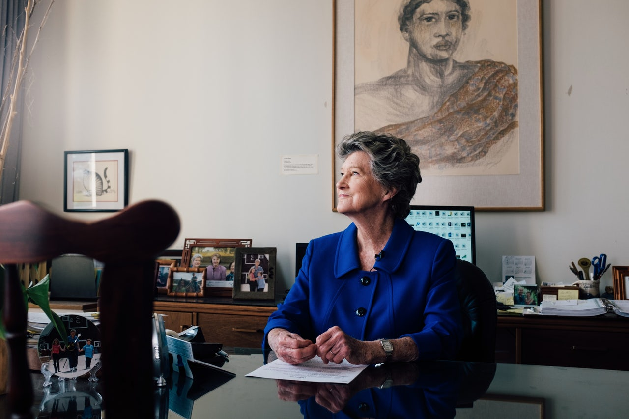 """Cynthia Thielen has been an """"Eisenhower Republican"""" since she was 17. She has served in the Hawaii House of Representatives since 1990. She was thinking about retiring but decided to stay and fight for moderate Republicanism after Fukumoto was censured."""
