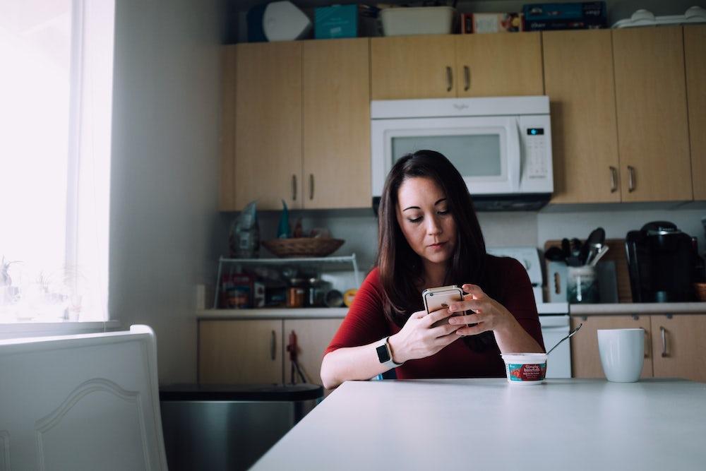 Fukumoto in her apartment in Mililani, Hawaii.