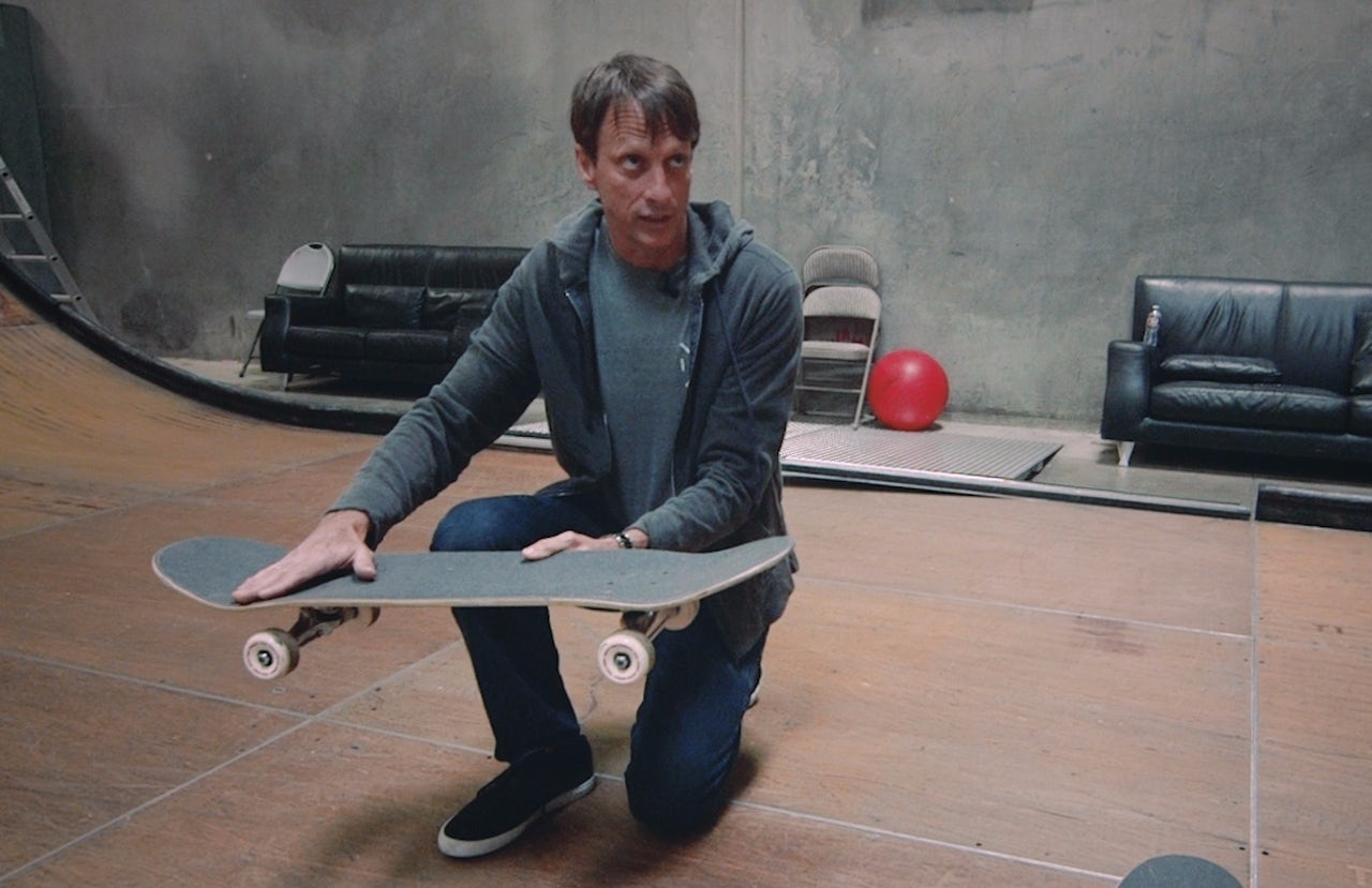 I Asked Tony Hawk If He Would Teach Me How To Ollie And He Said Yes The Outline