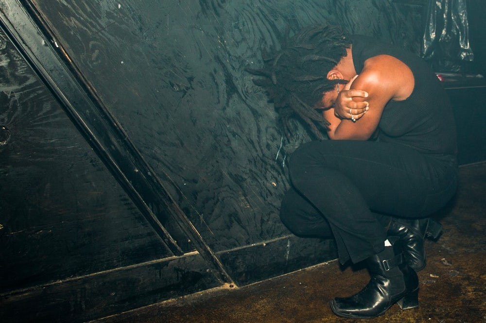 Tara-Jo Tashna, performance artist and composer, photographed at Tilt BK.