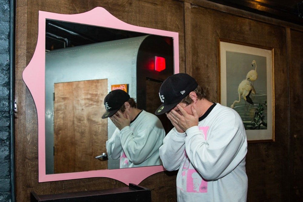 MC Lars, rapper, photographed at Black Flamingo.