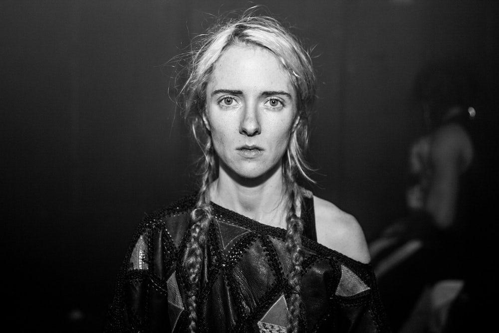 Caitlin Baucom, performance artist and composer, photographed at Tilt BK.