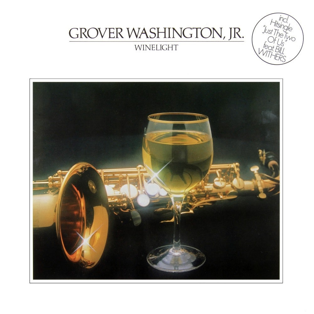 The cover for jazz fusion saxophonist Grover Washington Jr.'s 1980 album 'Winelight.'