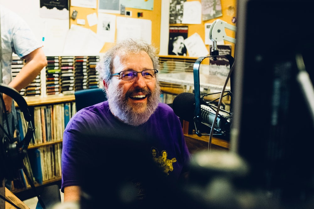 "Jim ""The Oz"" Oliva is the longtime organizer, host, and question writer of 90FM's annual trivia contest."