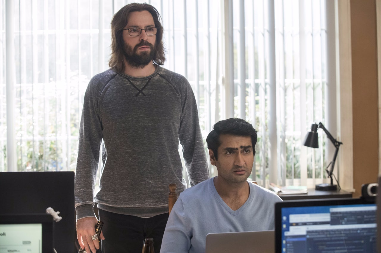 Martin Starr and Kumail Nanjiani star in HBO's Silicon Valley.