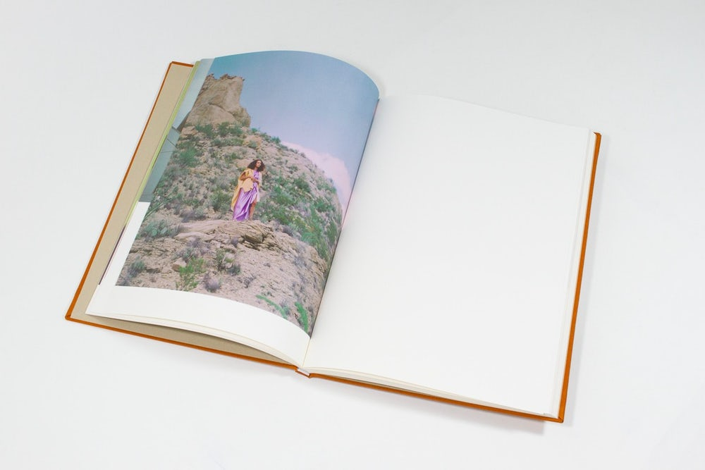 For Solange's A Seat at the Table, she published an art book that functions like a sophisticated album booklet.
