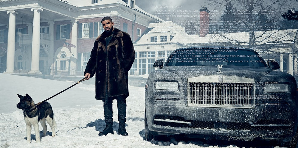 Drake released a digital booklet to accompany his 2016 album Views.