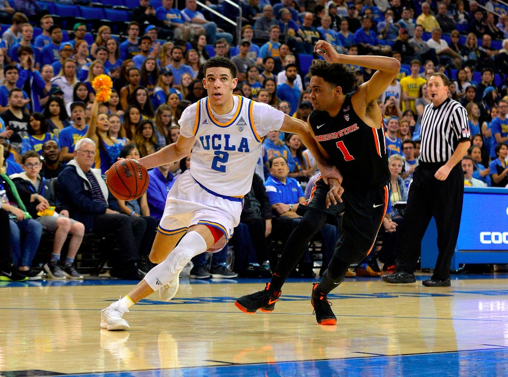 UCLA star Lonzo Ball is expected to be a top NBA draft pick.