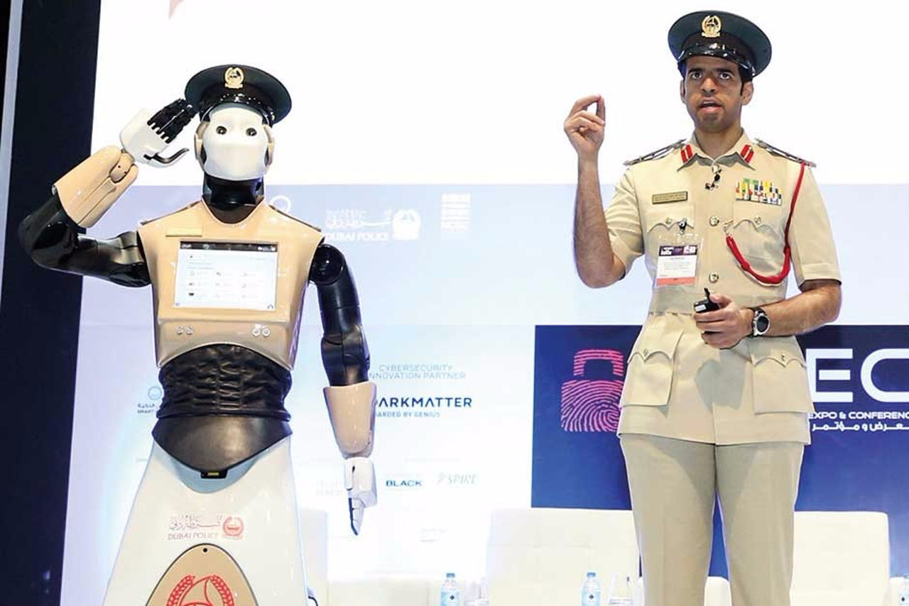 Dubai's first robotic patrol cop will hit the streets on May 24, 2017.