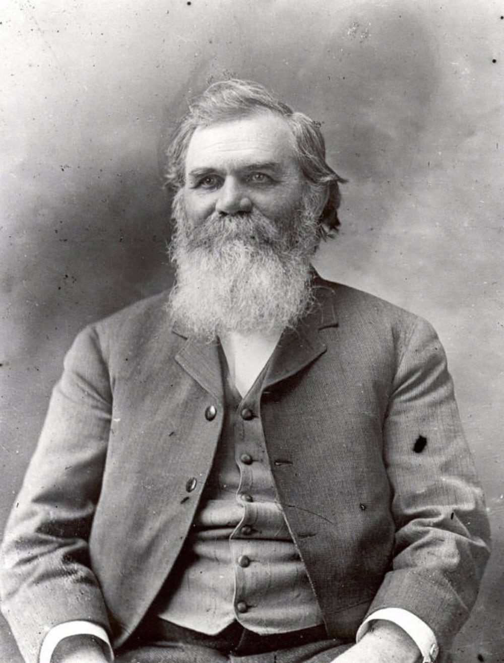 Daniel David Palmer, the founder of chiropractic.