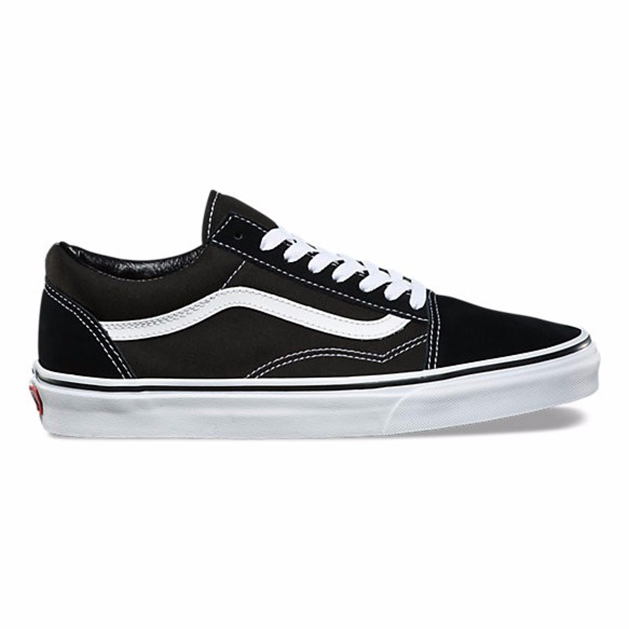 4d47f86d6509c4 Product photo of the Vans Old Skool sneaker. The shoe was originally  released in 1977