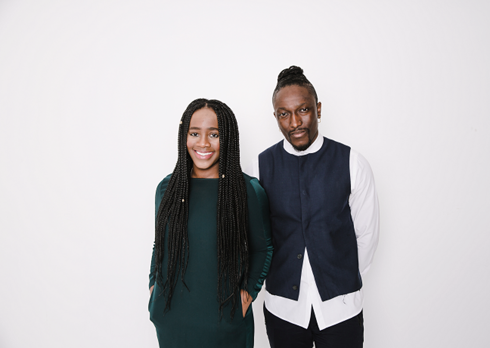 TONL founders Karen Okonkwo and Joshua Kissi are hoping their company can help change popular representations of people of color.