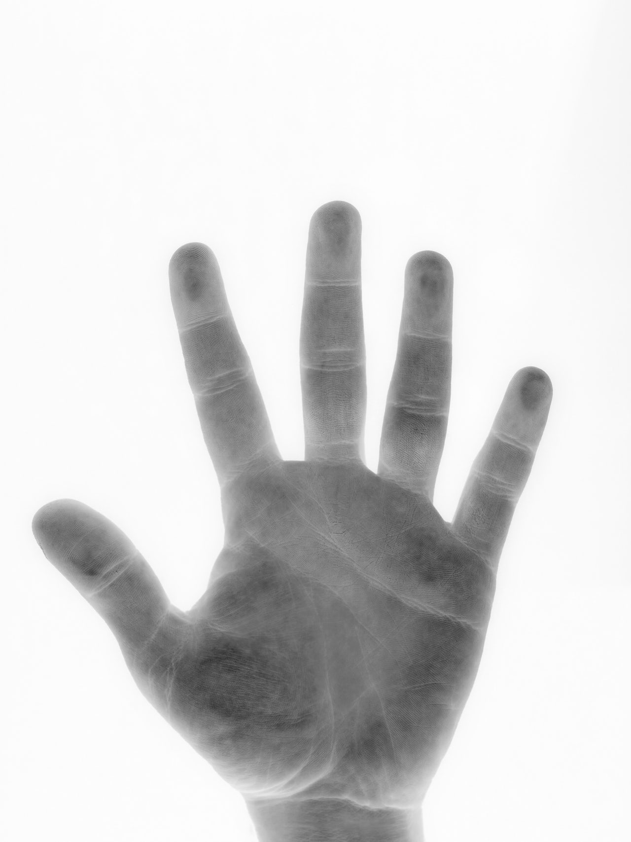 The practice of palmistry is believed to divine the future.