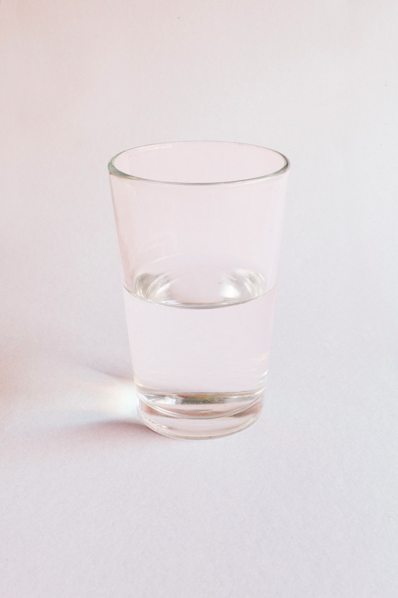 Is the glass half empty or half full? Perception can help determine luck.