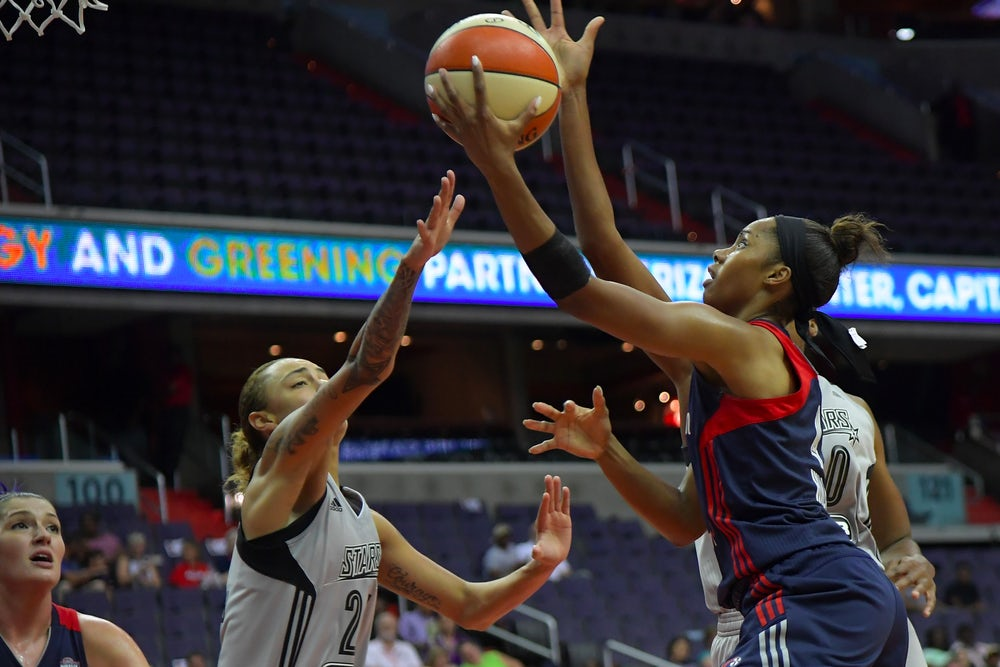 Even the WNBA doesn't promise extravagant wealth. The average salary is $77,605.