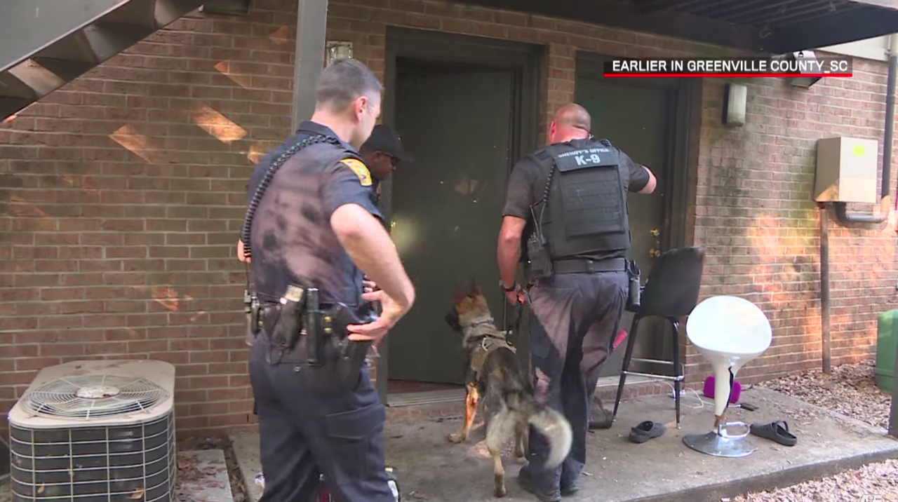 In a pre-taped segment for Live PD, officers enter a home.