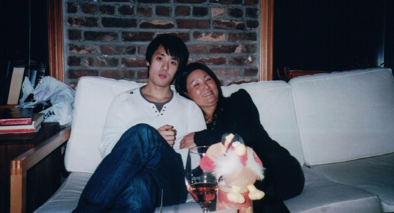 Andrew Yoon and his mother, Elizabeth Pae.