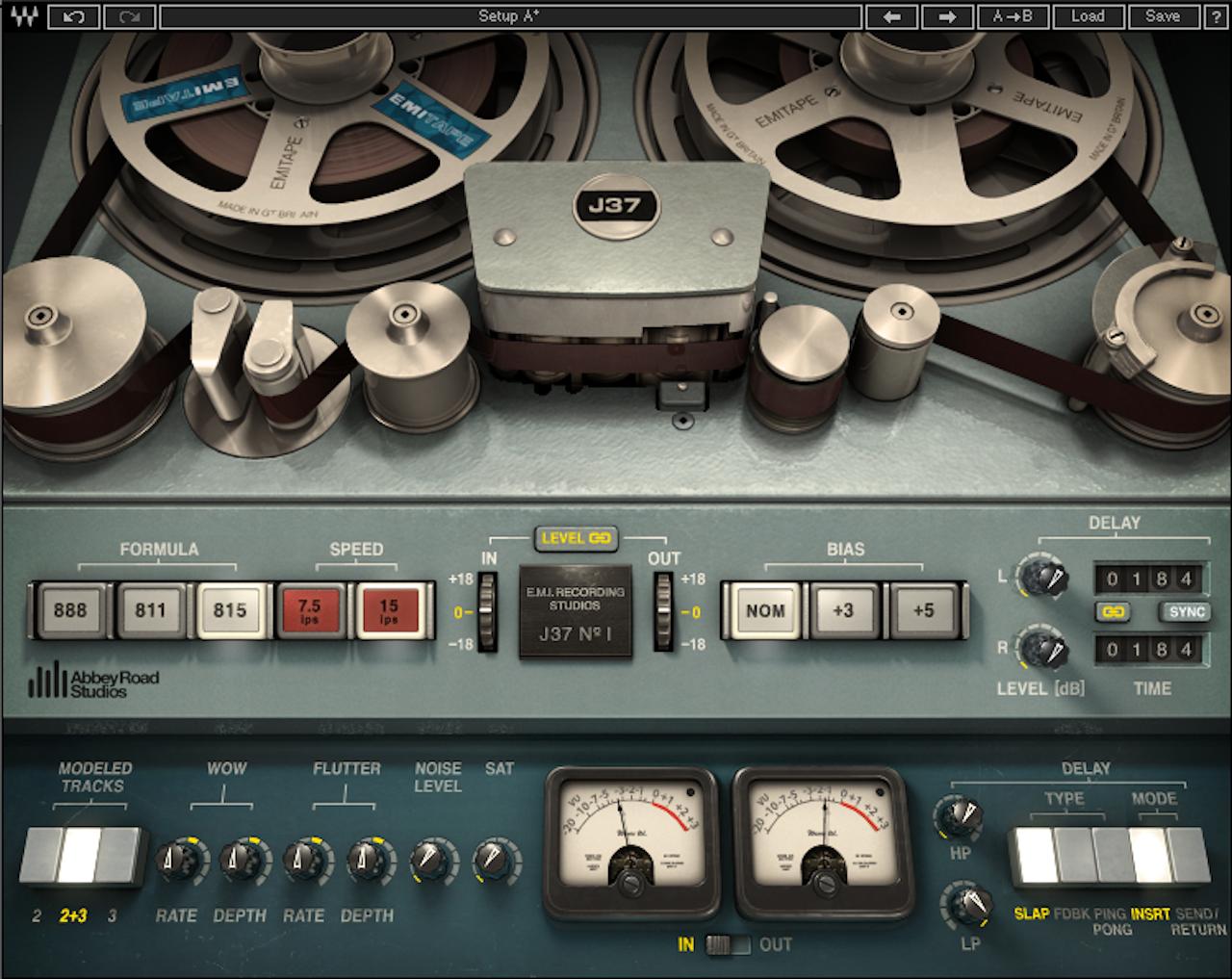 Abbey Road J37 tape simulator plugin (released 2013)