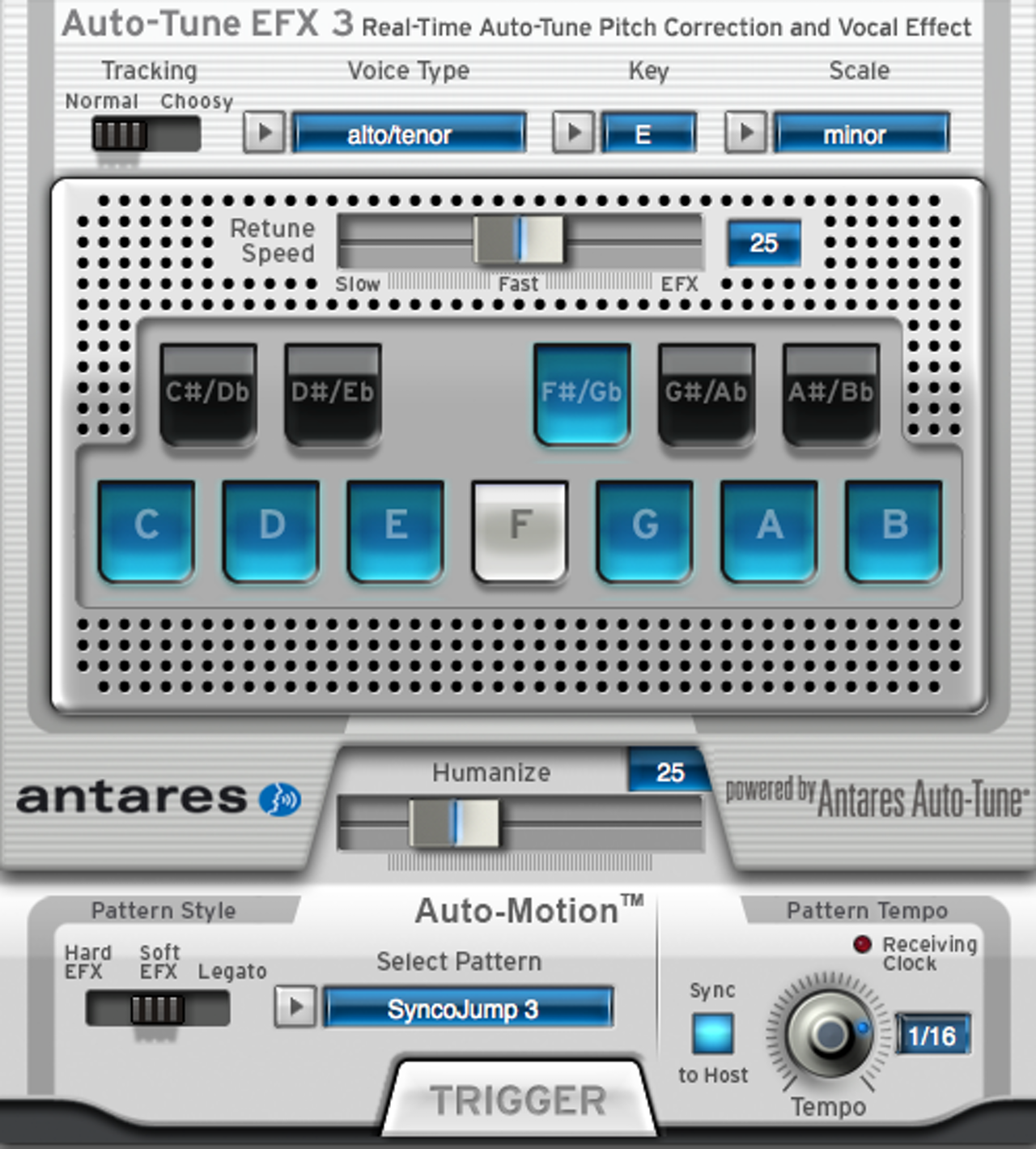 Auto-Tune EFX 3 pitch correction plugin (this version released 2016)