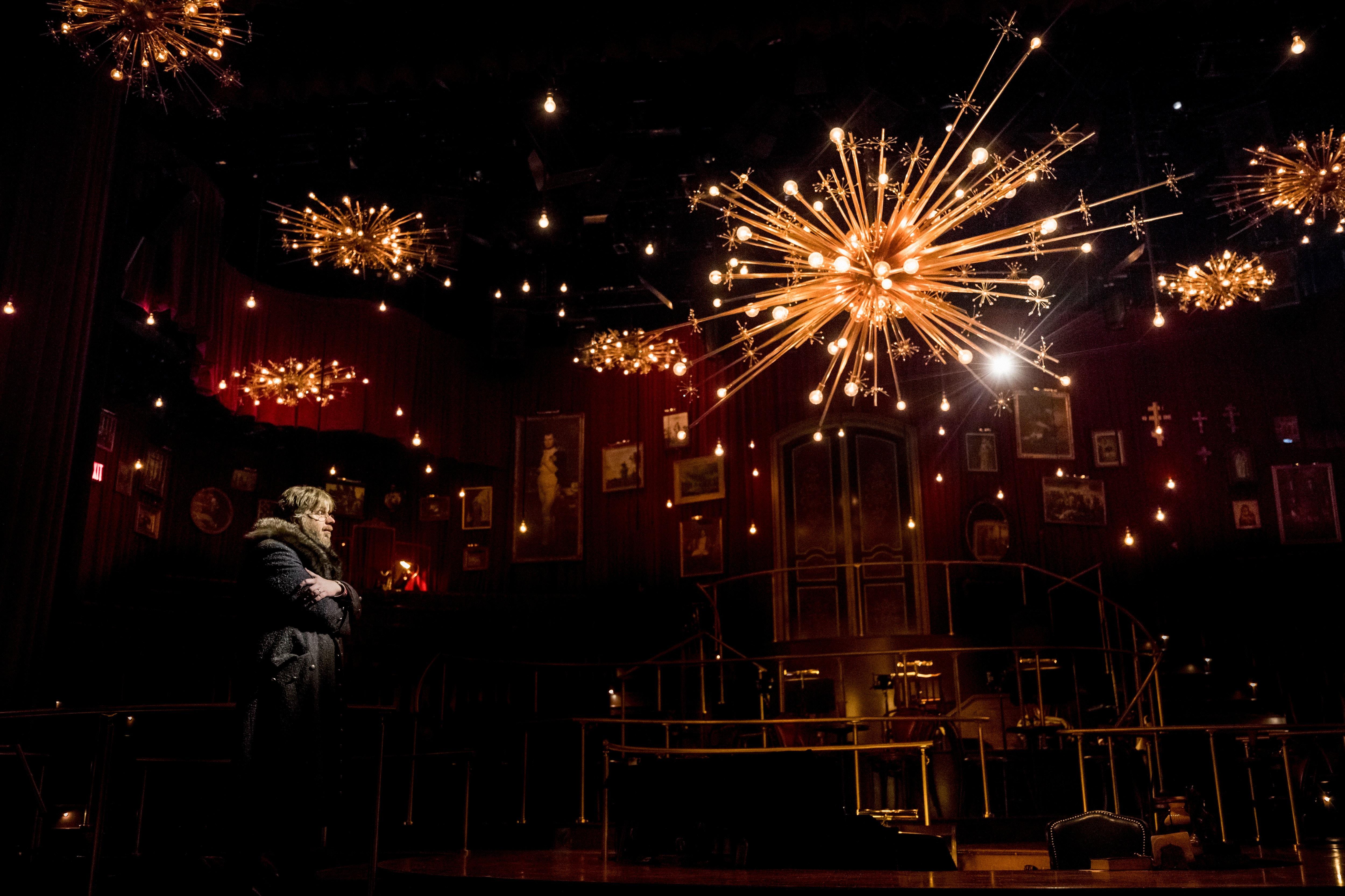 comet lighting. Dave Malloy, The Show\u0027s Creator, As Pierre. Comet Lighting T