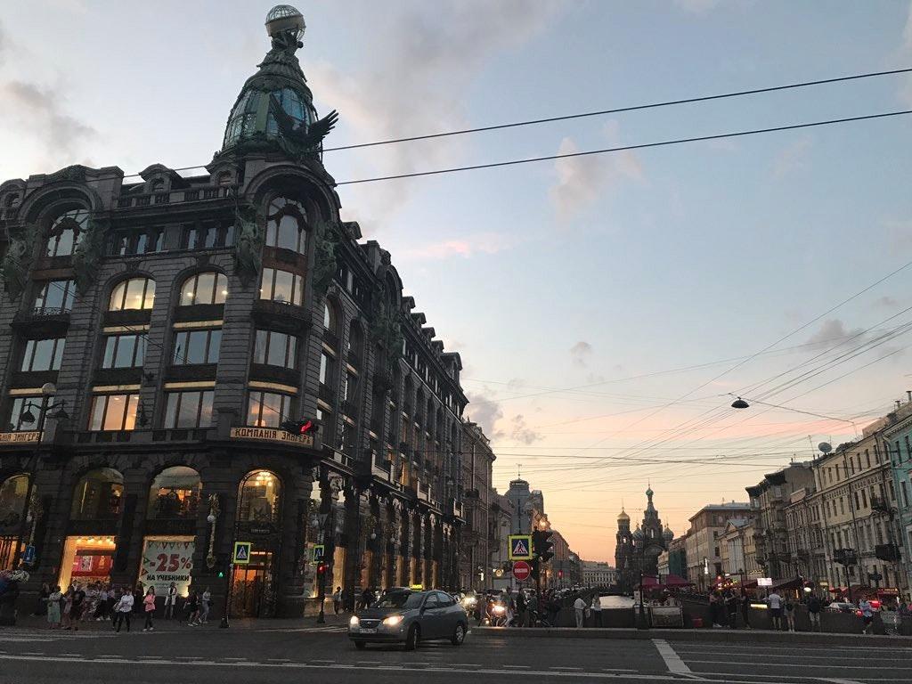 Singer House and Vkontakte Office