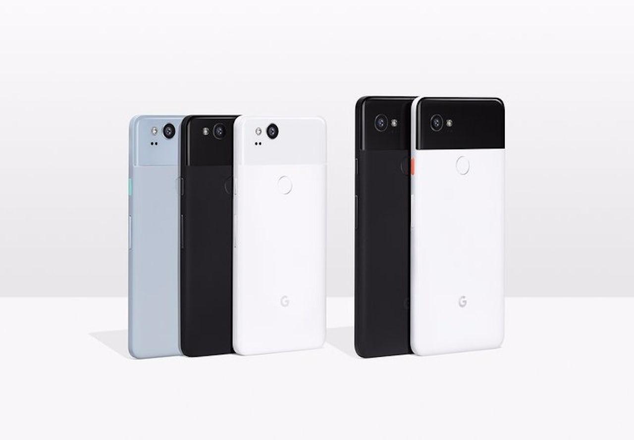 Google's Pixel 2 phones