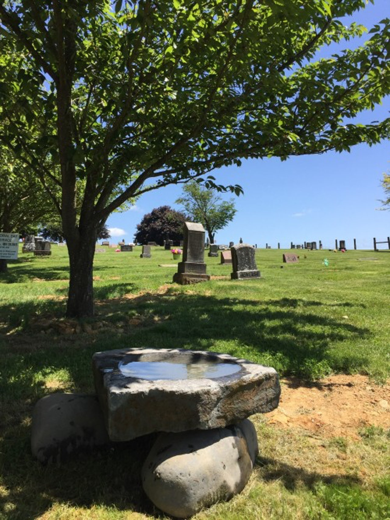 Rest Lawn Memorial Park in Oregon accepts natural burials anywhere on its grounds, keeping in tradition with the pioneers who were buried there more than a century ago.