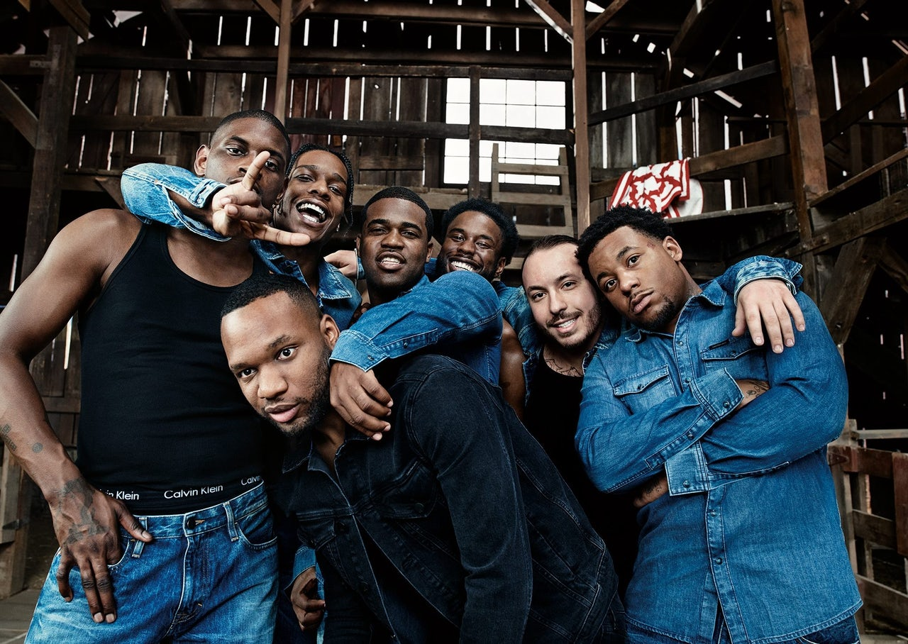 The A$AP Mob in The Barn.