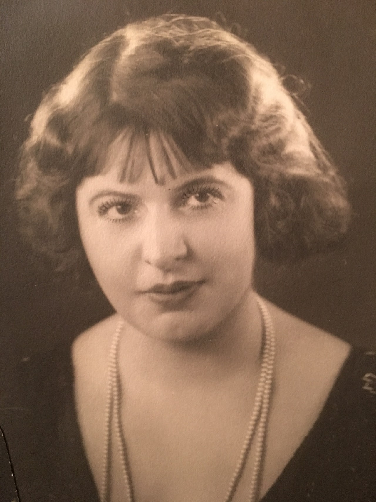 Inez Burns, circa 1917.