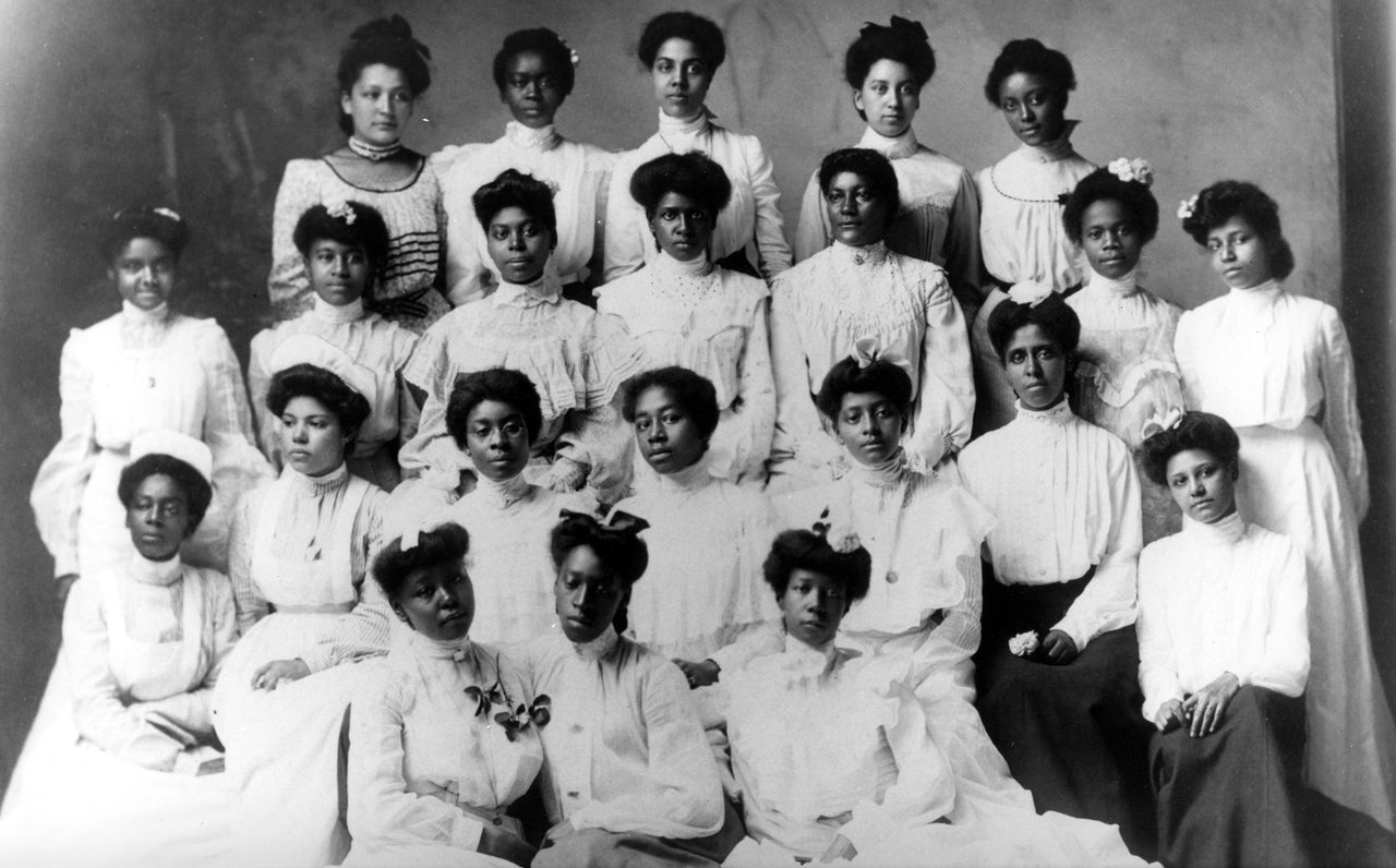 Spelman College Class of 1898.