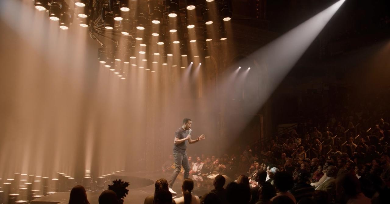Chris Rock in his Netflix special 'Tamborine'