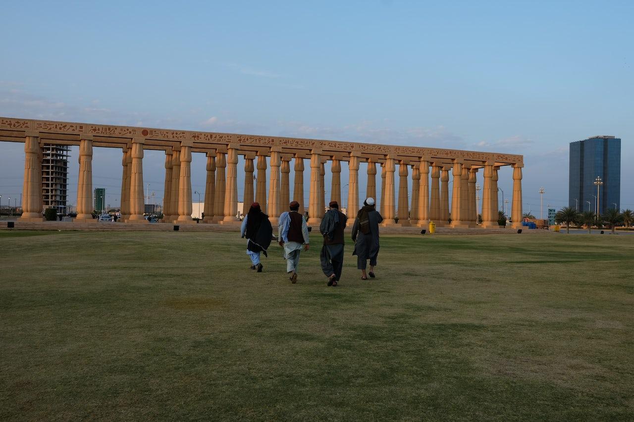 Bahria Town's Parthenon.