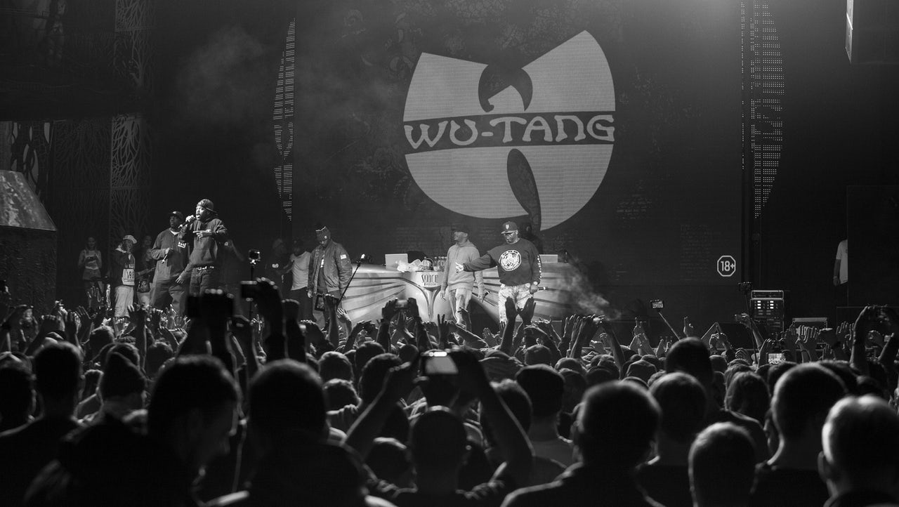 Wu-Tang members performing live in 2015