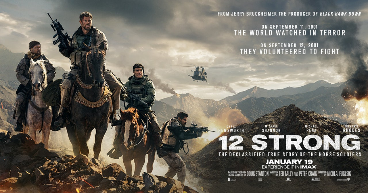 Promotional art for 12 Strong.