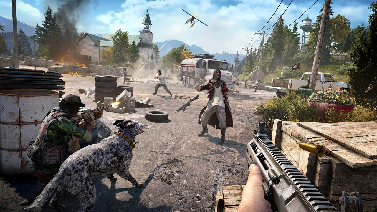 Gameplay from Far Cry 5.