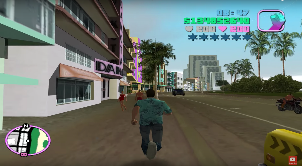 From the How Big is the Map episode on Grand Theft Auto: Vice City.