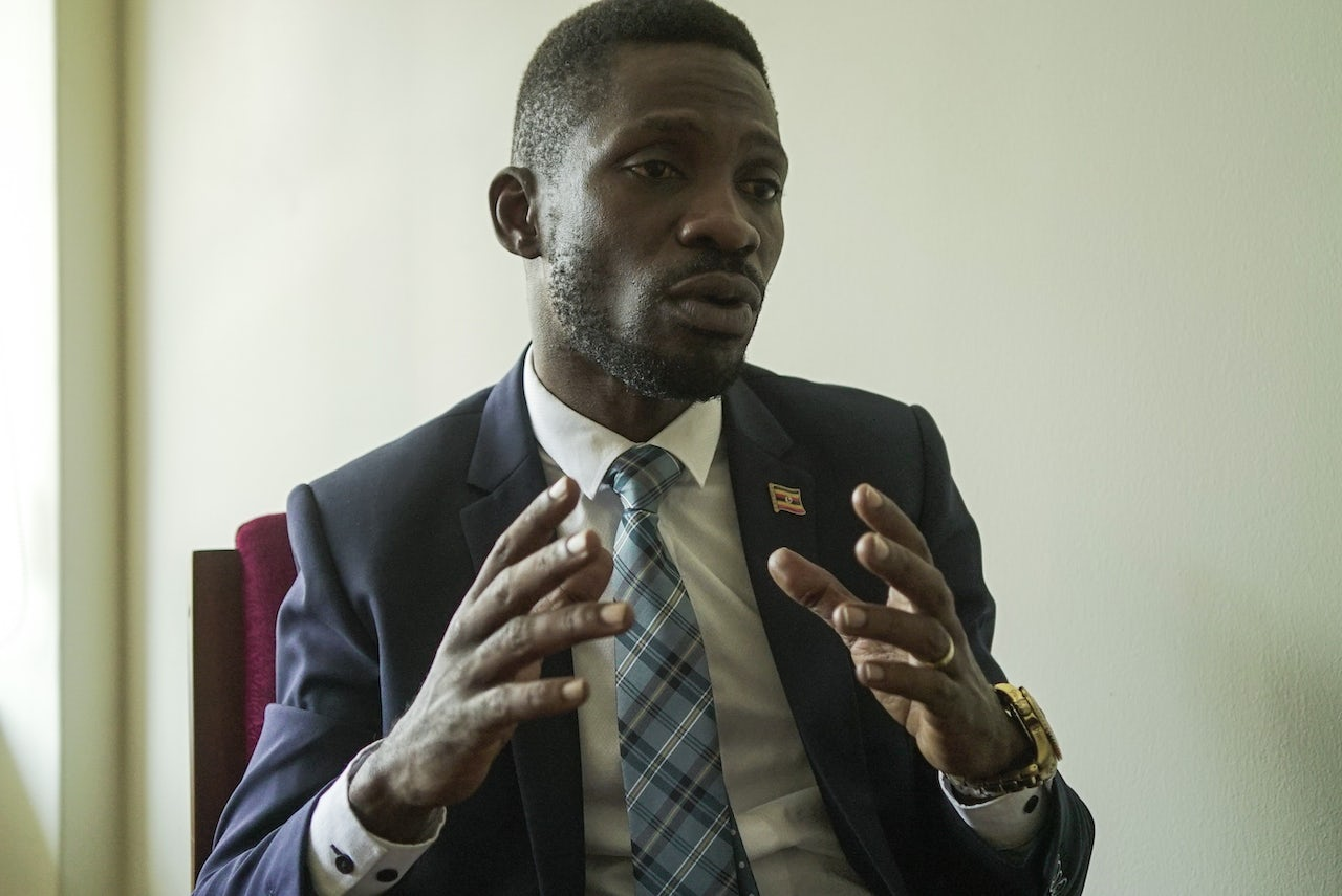 Ugandan parliamentarian Robert Kyagulanyi Ssentamu, once known by his stage name Bobi Wine, says he entered politics to ensure that other Ugandans are legally protected from the egos of politicians.