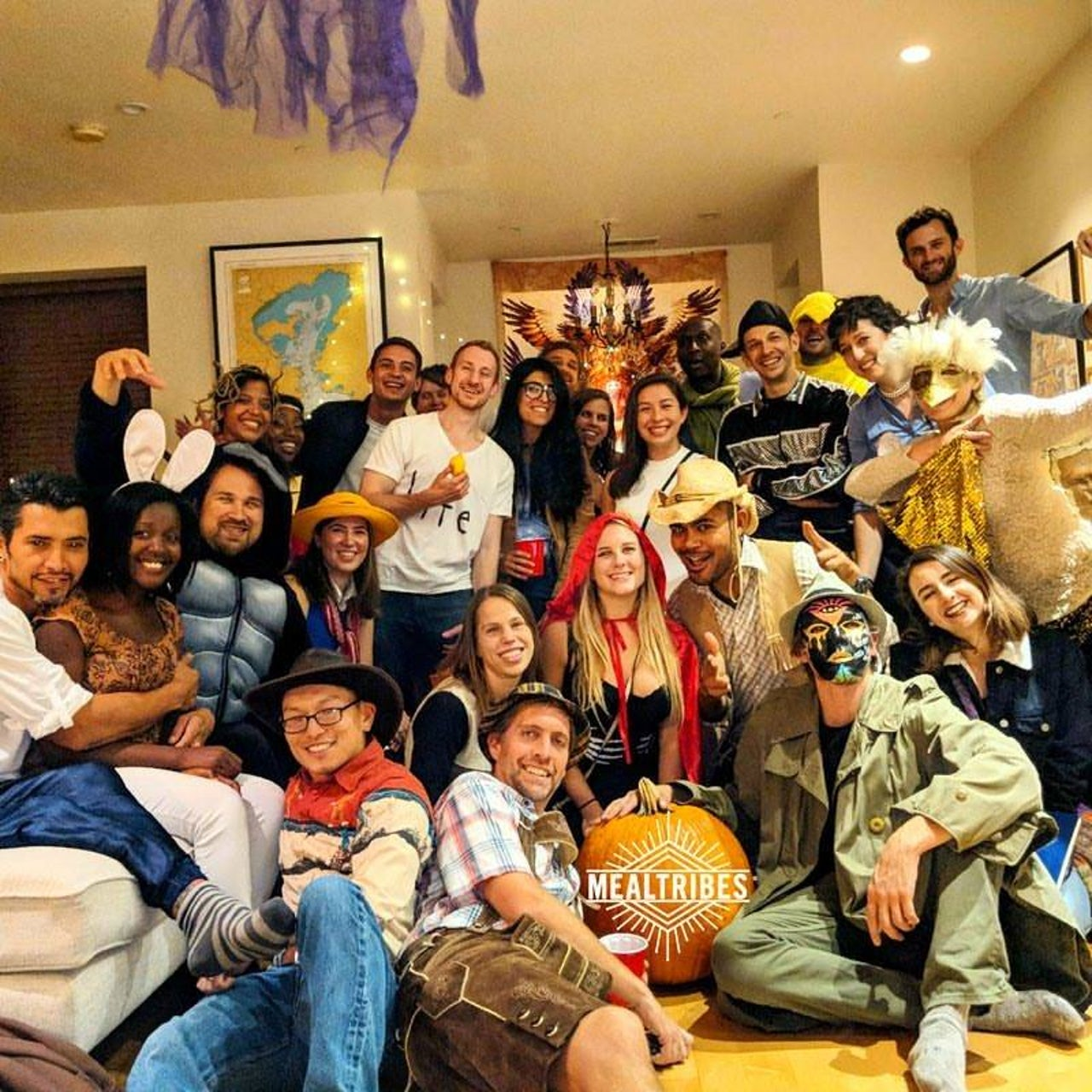 MealTribes Halloween gathering