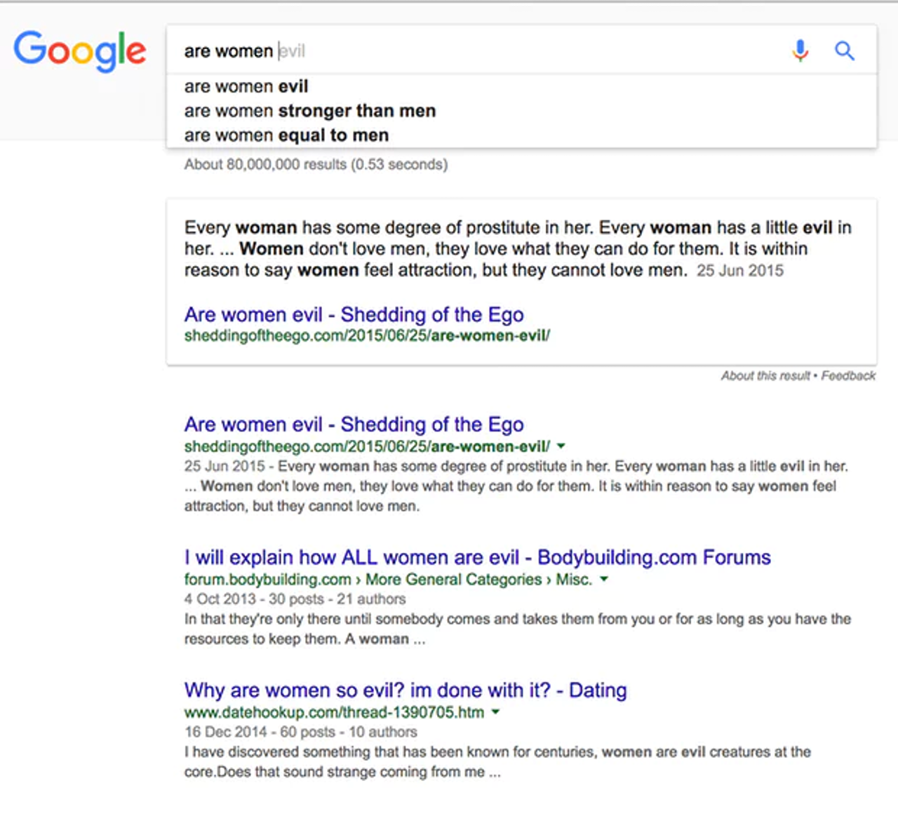 Is Google    evil? | The Outline