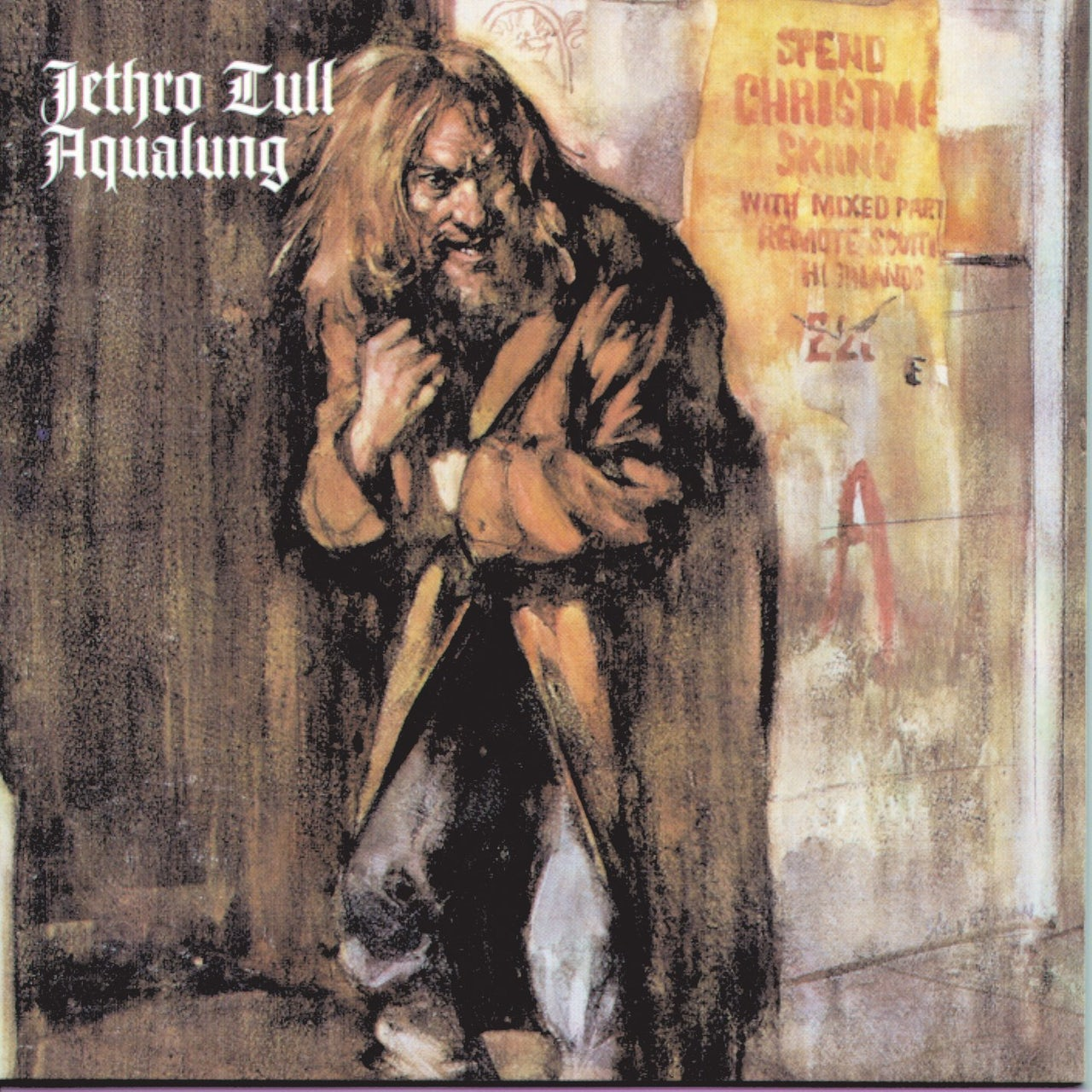The cover of Jethro Tull's Aqualung.