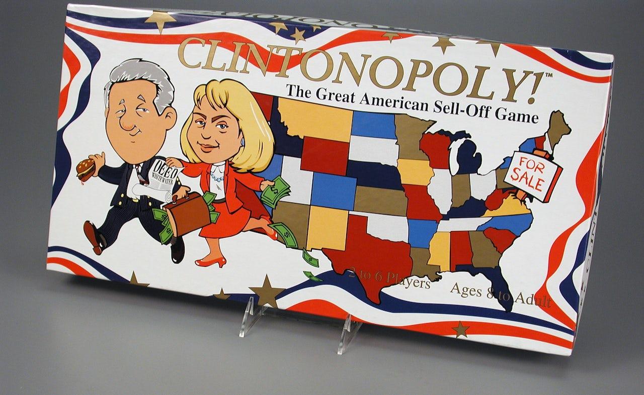 'Clintonopoly'