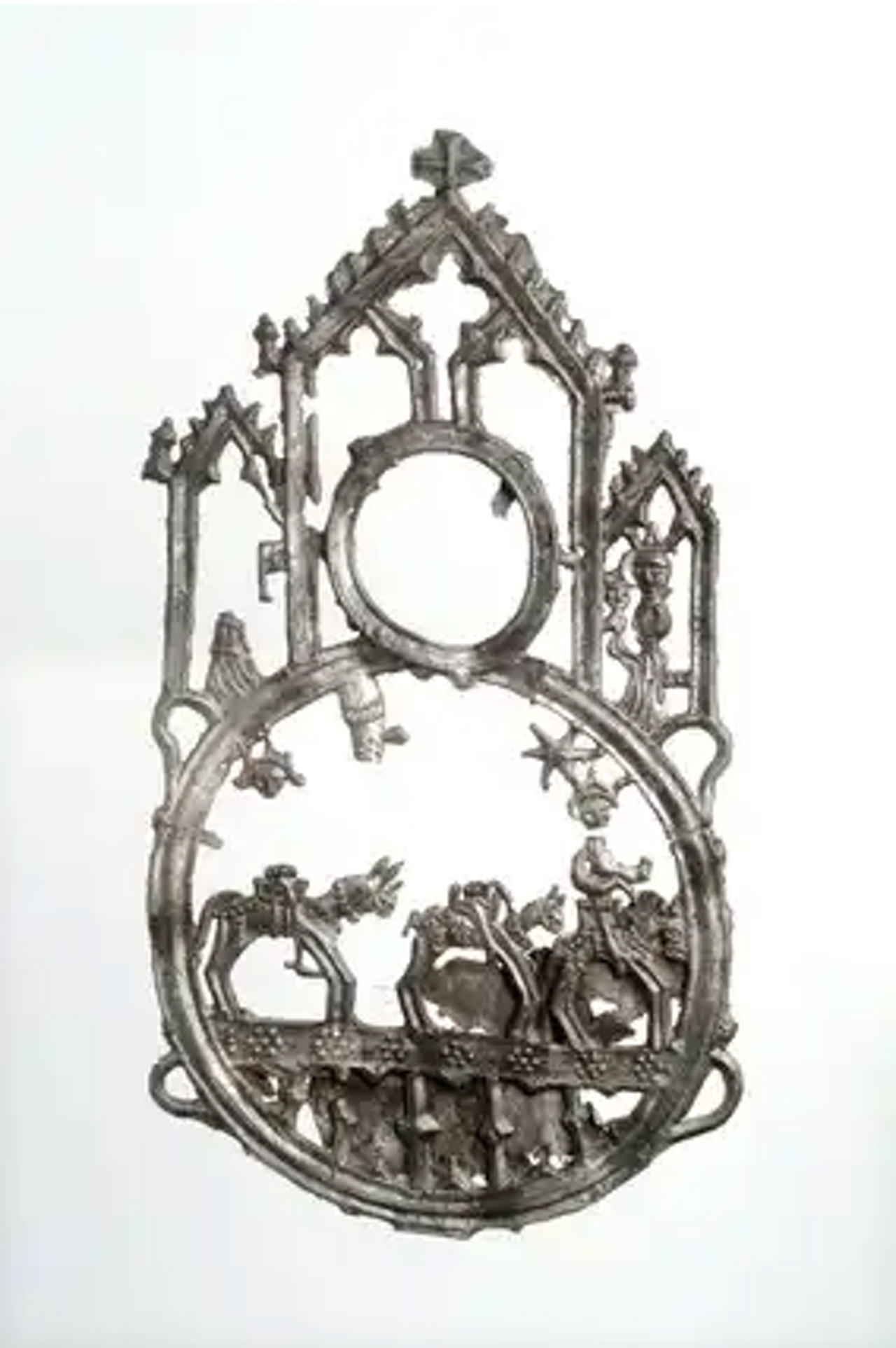 Three kings pilgrim badge, 15th century