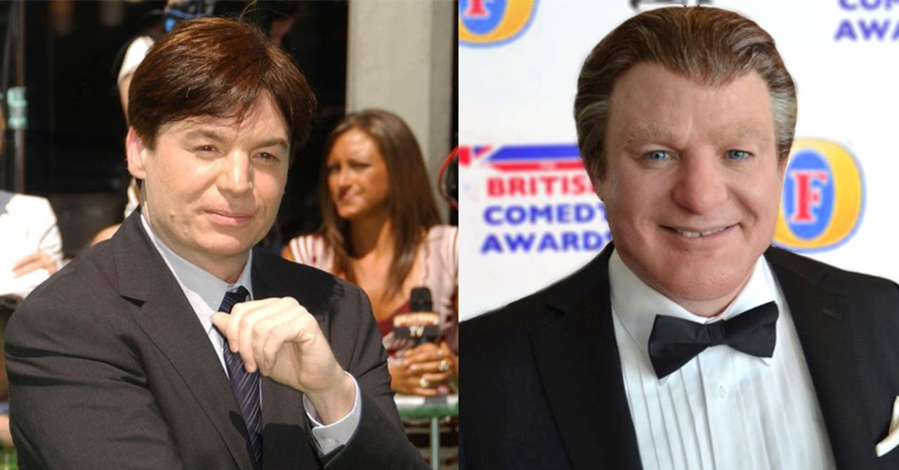 Mike Myers' disappearing act