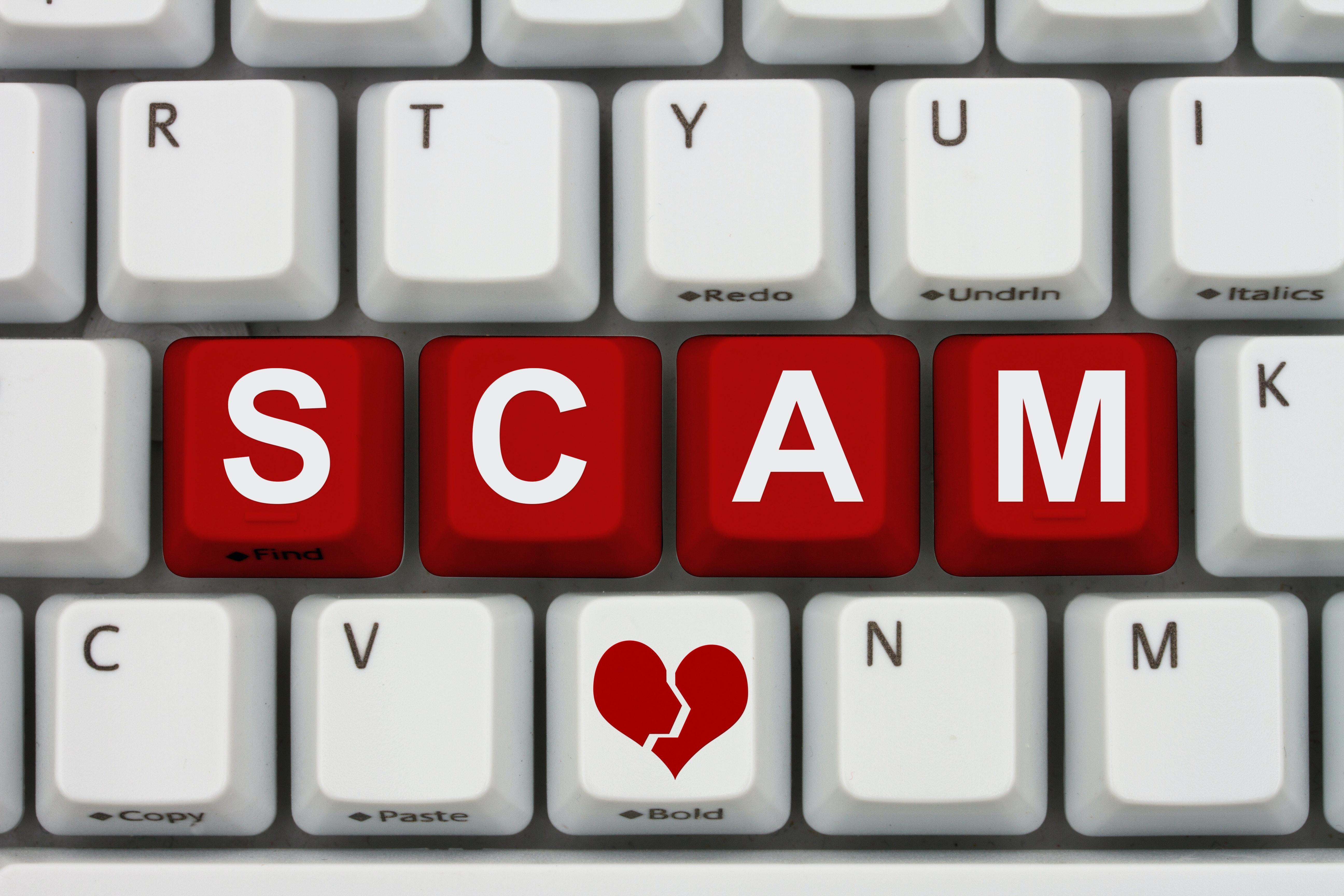 Match dot com scams