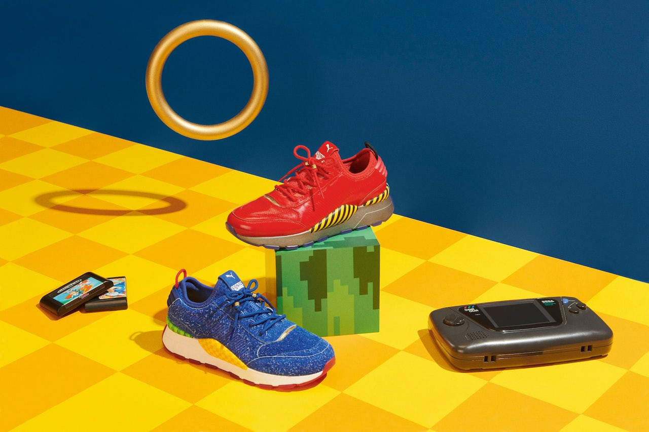 Puma Made Sonic The Hedgehog Shoes And They Re Totally Insane The Outline